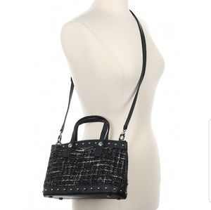 HENRI BENDEL Boucle Satchel Crossbody Bag